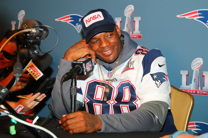Martellus Bennett Isn't a Rapper But He Freestyles With