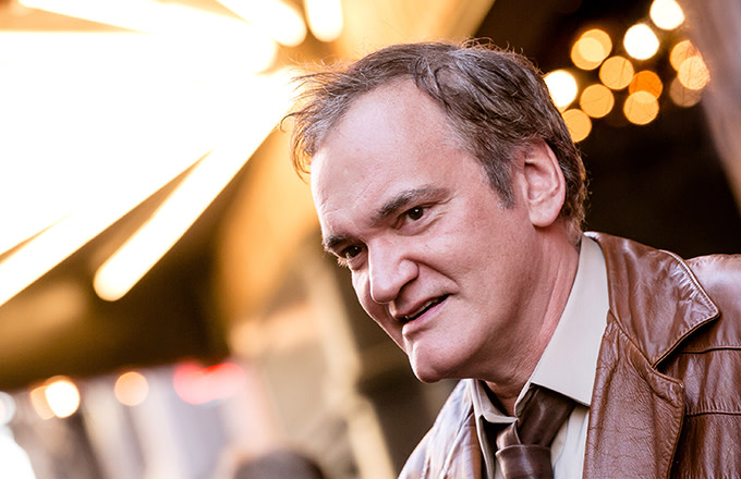 This is a photo of Quentin Tarantino.
