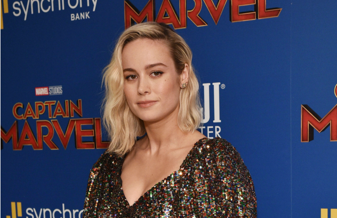 Actress Brie Larson attends the FIJI Water with the Cinema Society