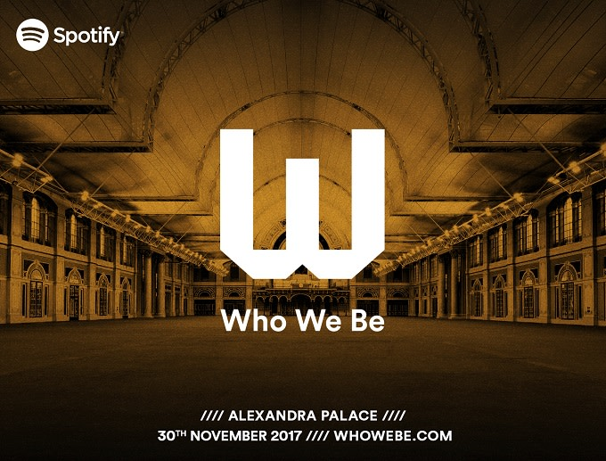 Spotify 'Who We Be' Live