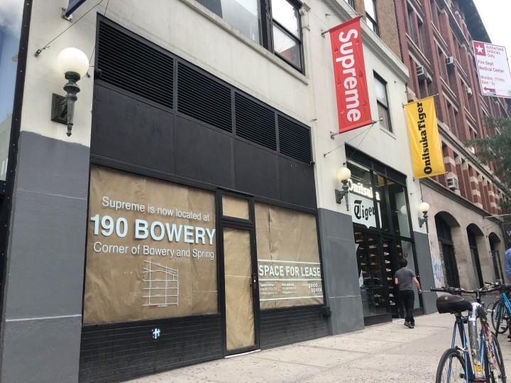Supreme Lafayette Store Closing
