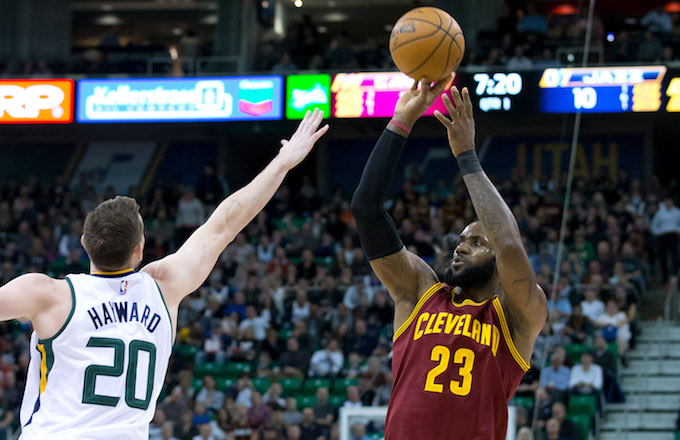 faa4f4977 Gordon Hayward Flames Jazz Fan Who Said He'll Be 'LeBron's Little B ...