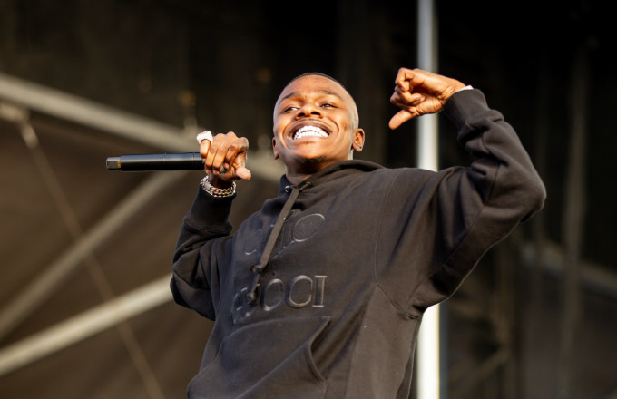 DaBaby performs at Rolling Loud festival