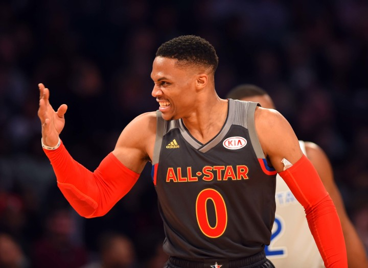 Russell Westbrook NBA All-Star Game MVP 2017 NO