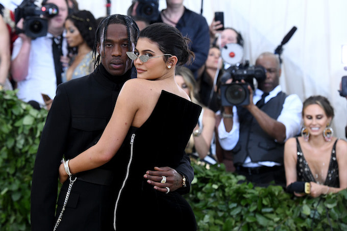 Travis and Kylie in NYC