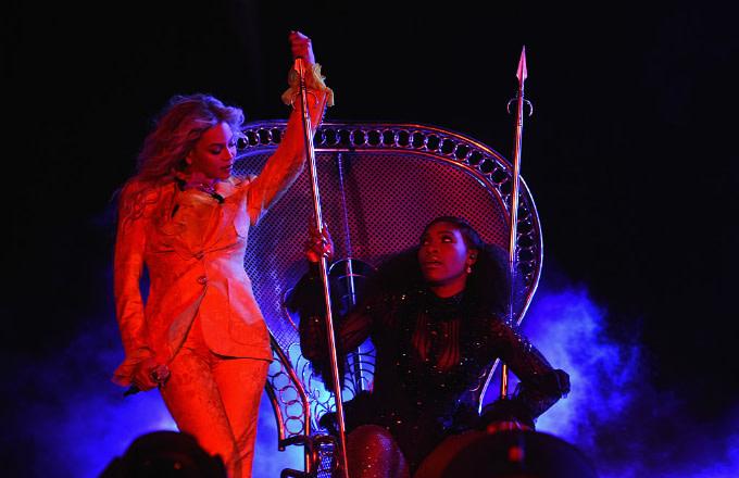 Beyoncé Serena Williams