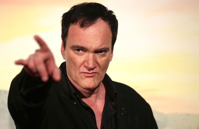 "Quentin Tarantino attends the premiere of the movie ""Once Upon a time in Hollywood."""
