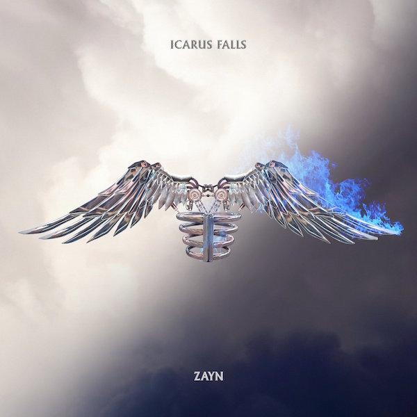 Cover art for Zayn Malik album 'Icarus Falls'