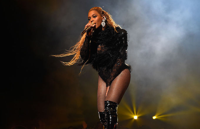 Beyoncé performing in 2016.