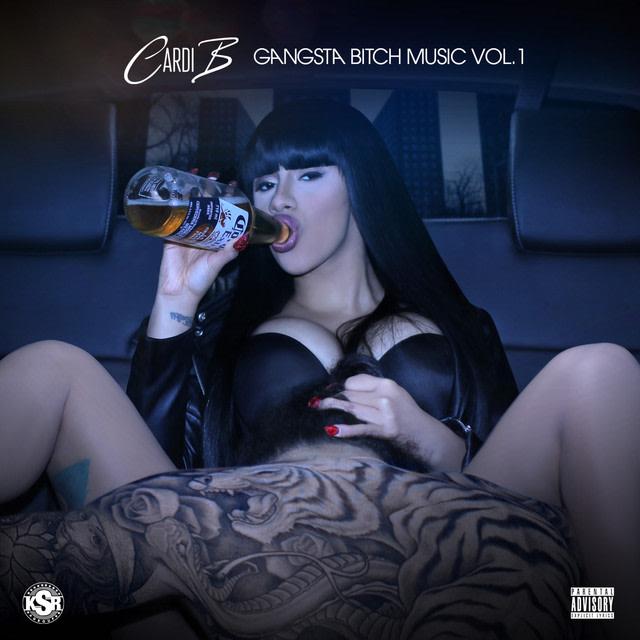 Cardi B graces cover of 'Gangsta Bitch Music Vol. 1.'