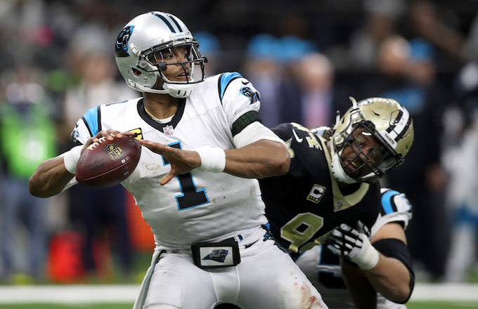 440eb921 Cameron Jordan Trolls Cam Newton by Sending Him Bottle of Wine After ...
