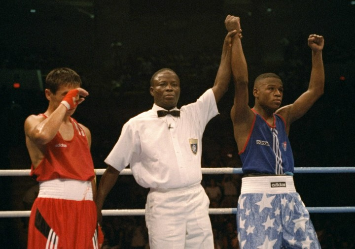 young mayweather 1996 olympics