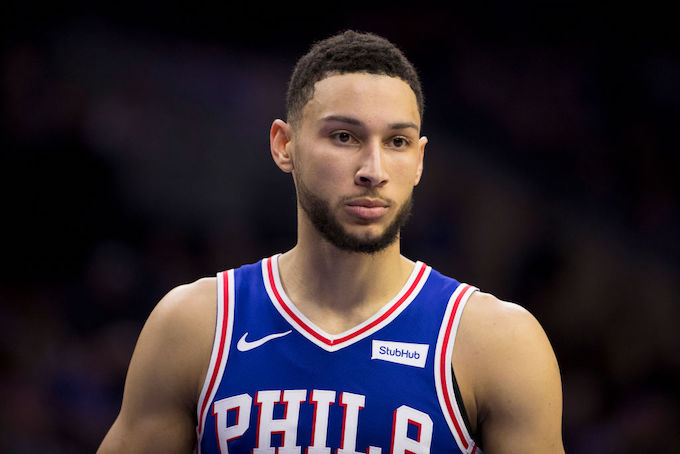 This is a picture of Ben Simmons.