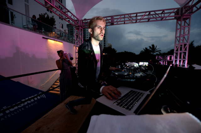 A-Trak at SiriusXM Music Lounge At 1 Hotel South Beach