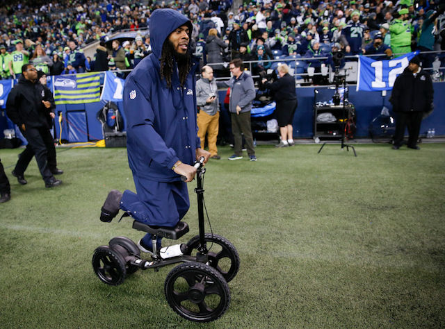 This is a picture of Richard Sherman.