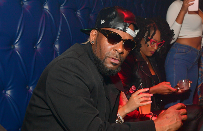 R. Kelly attends a Party at Amora Lounge