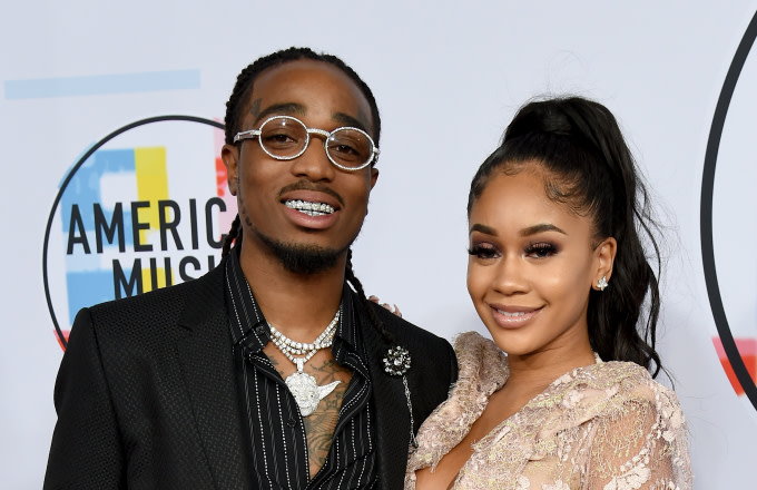 Watch Saweetie Surprise Quavo With a Classic Car for His