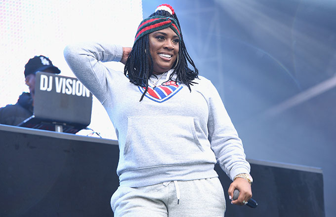 This is a photo of Kamaiyah.