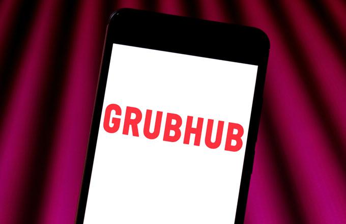Grubhub diz que seu contrato permitiu criar sites falsos de restaurantes