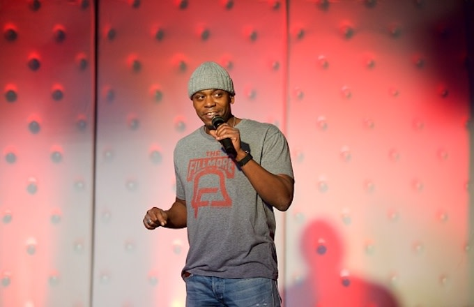 Dave Chappelle gives a surprise performance