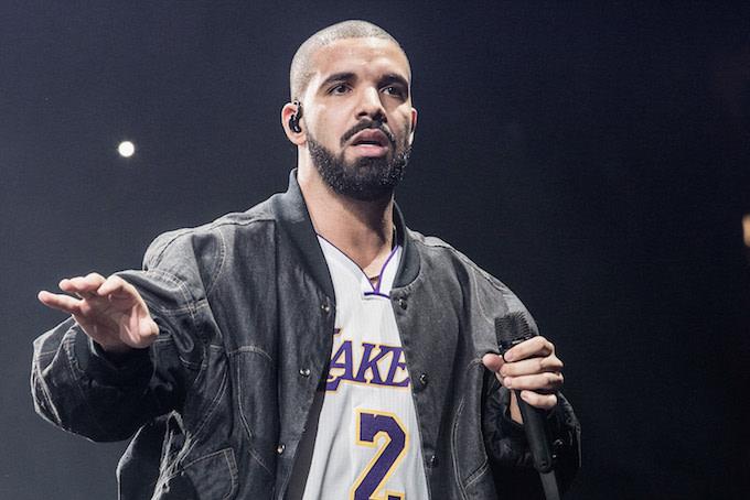 Drake in CA