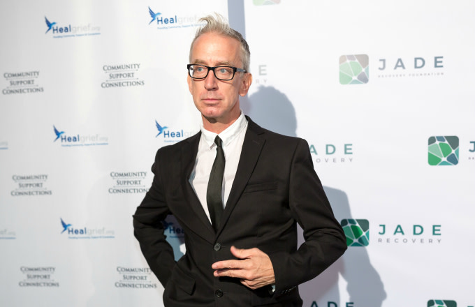 Comedian Andy Dick attends the Jade Recovery AMF Event
