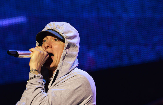 Eminem in Paris