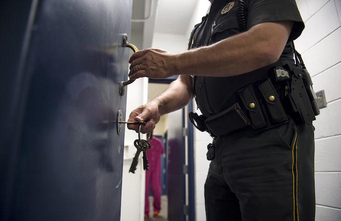Sheriff in jail