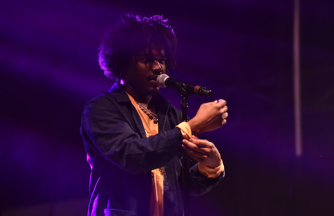 Smino performs during the 2018 Voodoo Music & Arts Experience.