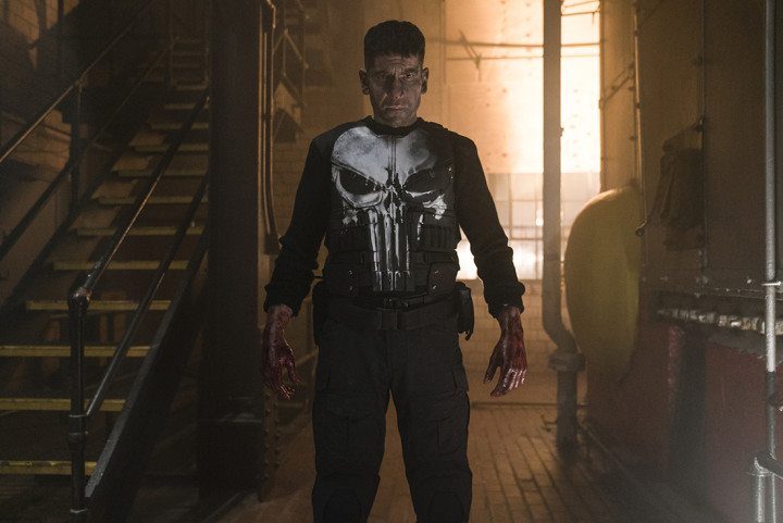 Jon Bernthal as The Punisher on Netflix