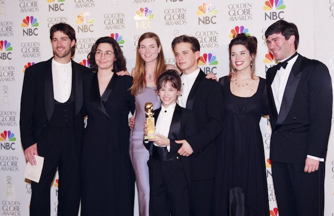 'Party of Five' cast at the 1996 Emmy Awards