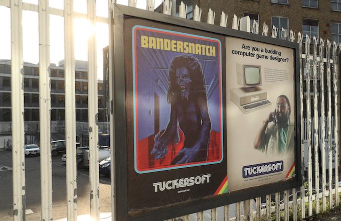 Netflix Bandersnatch posters