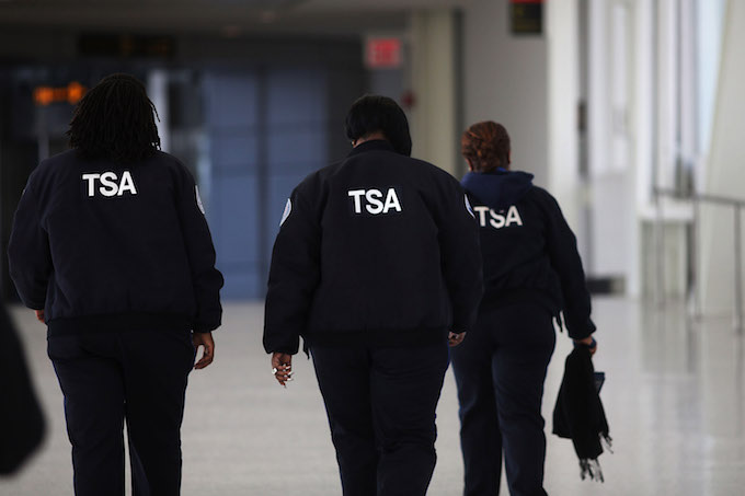 TSA at JFK airport