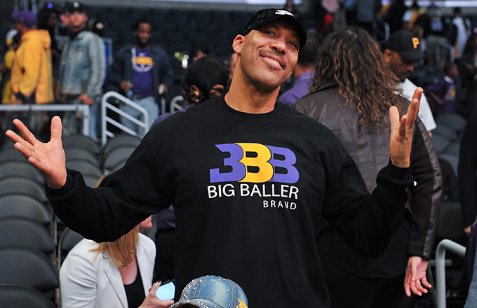 This is a photo of Lavar Ball.