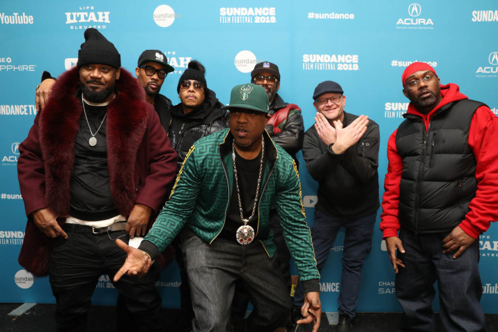 Wu-Tang Clan and programmer Adam Montgomery at Sundance Film Festival 2019