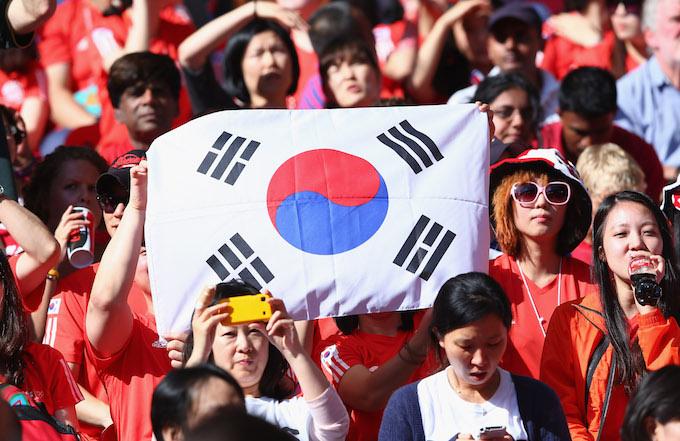 Korea Republic v Gabon game