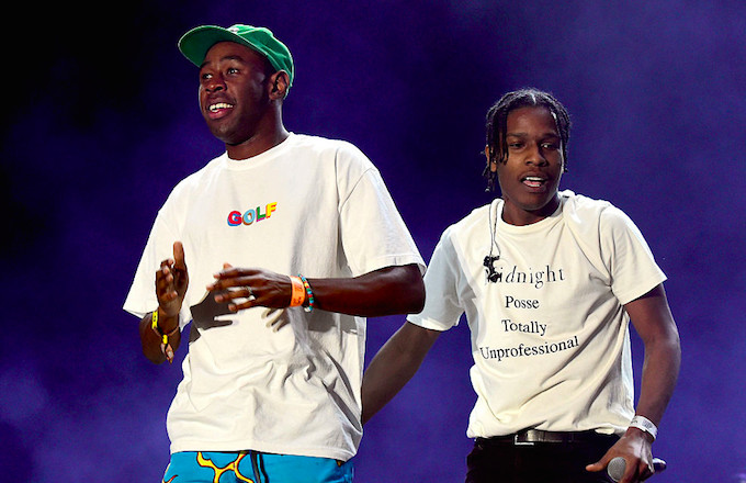 cb970047 Tyler, the Creator Responds to ASAP Rocky's Album Teaser by Trolling ...