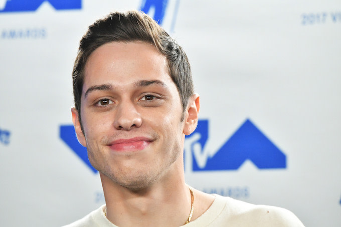 Pete Davidson in California