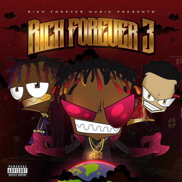 rich forever 3 mixtape art rich the kid