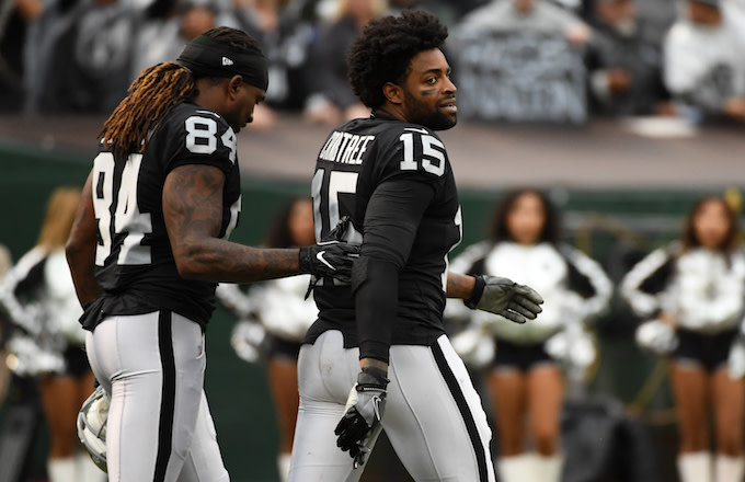 Michael Crabtree and Cordarrelle Patterson