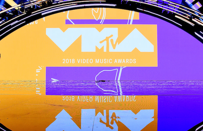 Radio City Music Hall for 2018 MTV Video Music Awards Press Junket.