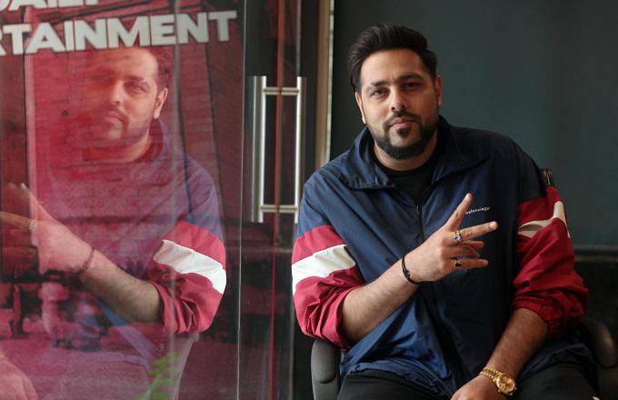 Bollywood singer and rapper Badshah