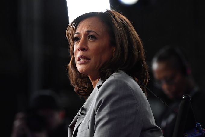 This is a picture of Kamala Harris.