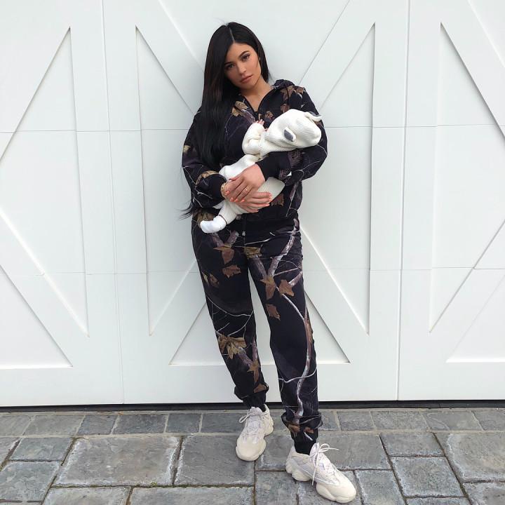 Kylie Jenner Adidas Yeezy 500 Blush