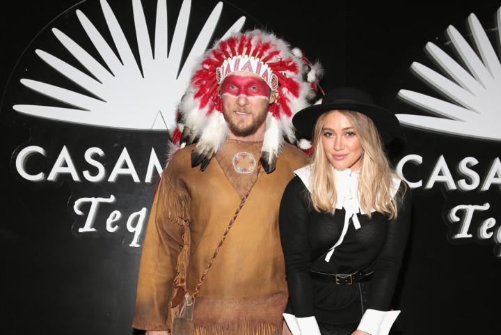 Hilary Duff Racist Costume