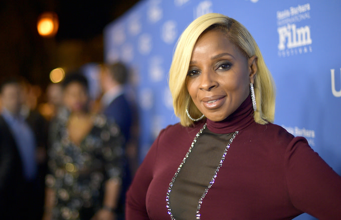 Mary J. Blige at the Virtuosos Award