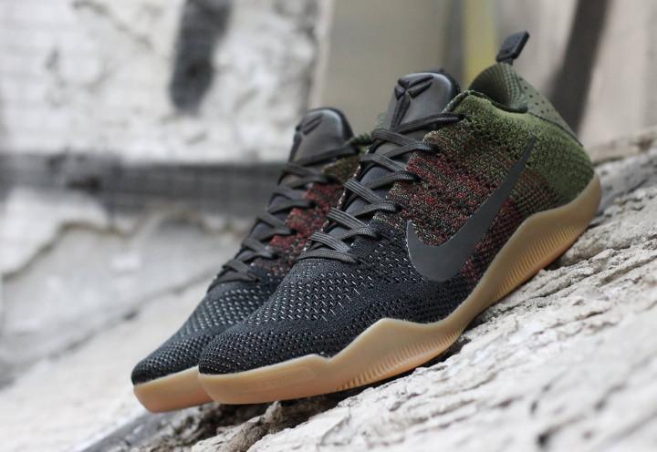 sports shoes 8f08e 3b528 Nike Kobe 11 4KB Green Gum