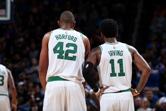 best sneakers 30e2b aa072 Celtics Reportedly Getting Ready for Kyrie Irving and Al ...