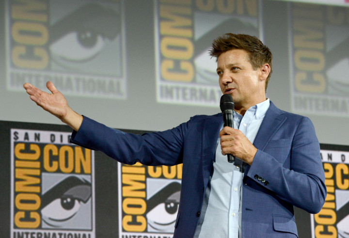 Jeremy Renner at Comic-Con 2019