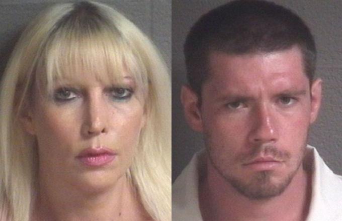 North Carolina mother and son arrested for incest mugshots.